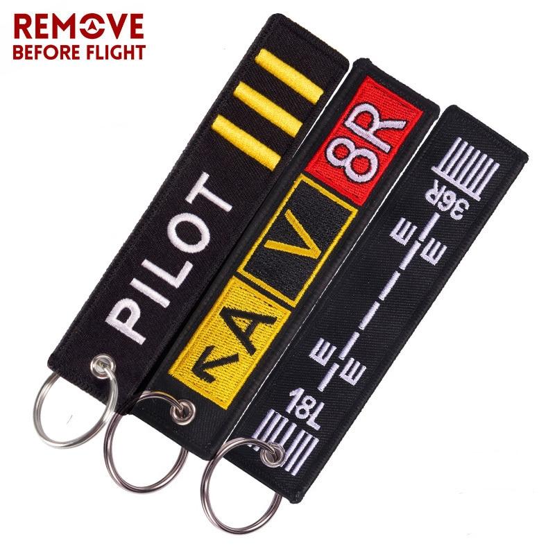 Fashion Pilot Key Chain Bijoux Keychain (1)
