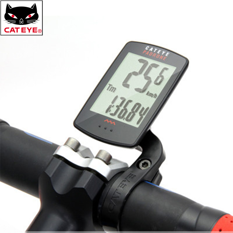 CATEYE Bicycle Computer Waterproof Stopwatch Backlight Wireless Largest Display Cycling Bike Speedometer MTB Bicycle Accessories