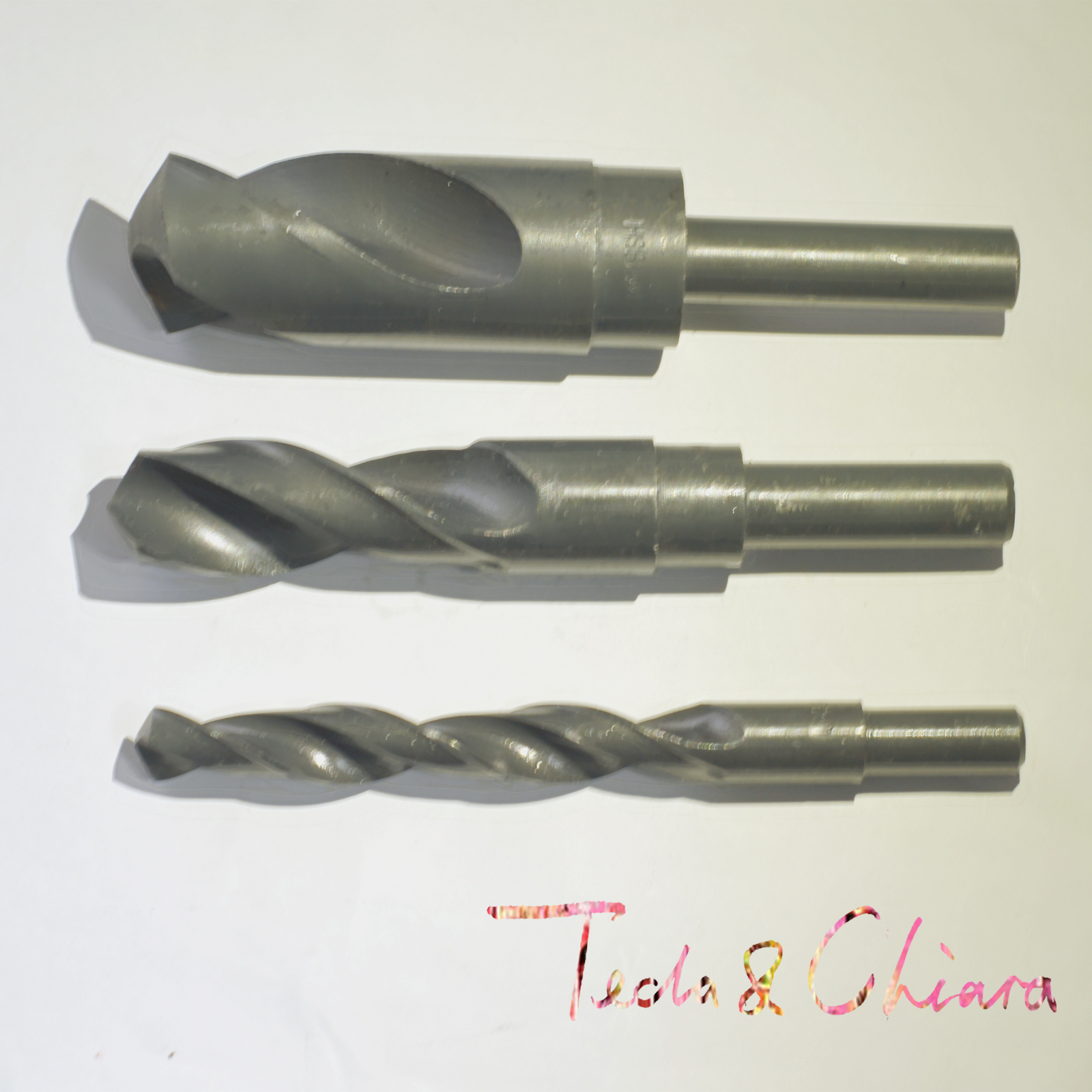 33.5mm 34mm 34.5mm 35mm HSS Reduced Straight Crank Twist Drill Bit Shank Dia 12.7mm 1/2 inch 33.5 34 34.5 35 2pcs 1 16 6 16 6mm 16 6 hss reduced shank twist drill bit shank diameter 1 2 inch