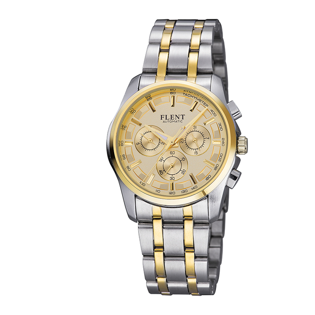 Watch Men fashion casual Luxury business watches new design Stainless steel Round Analog Display Business Brand Watch wristwatch