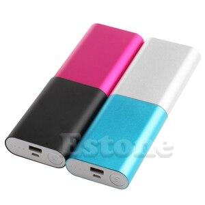 Image 5 - Aluminium 5V 1A batterie externe étui 3X 18650 chargeur de batterie boîte pour téléphone portable