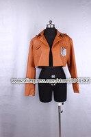 Attack On Titan Cosplay Shingeki No Kyojin Cosplay Jacket Japanese Anime Brown Coat Women Man Adults