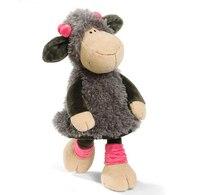 Candice guo! süper sevimli nici peluş oyuncak doldurulmuş jolly mah lucy koyun gri etek kuzu kız doğum günü hediye 35 cm 1 adet