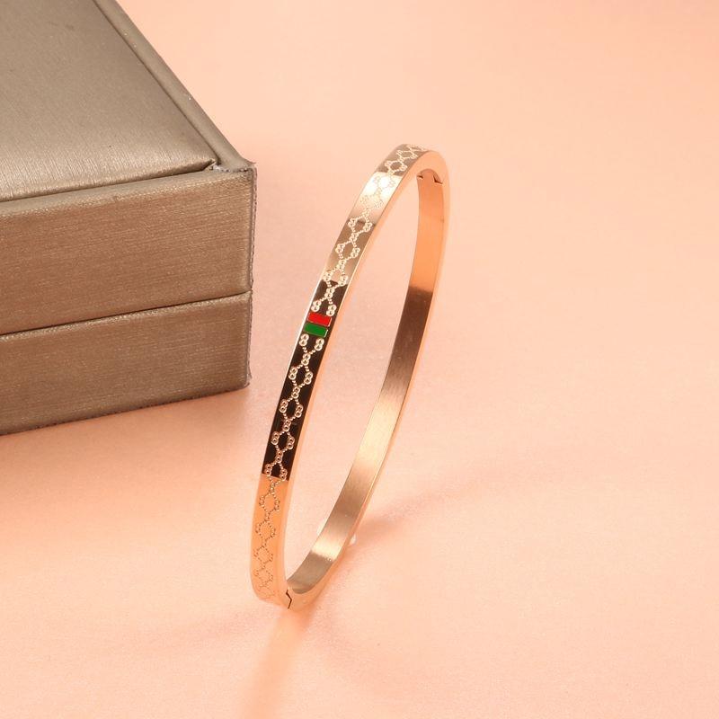 11 (8) - Brassard Breloque, Bracelet Pour Femmes, Acier Inoxydable Plaqué Or 4mm 6mm 8mm,