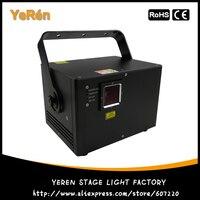 DJ Лазерный свет RGB Анимация Лазерный свет 1350 МВт авто звук DMX ILDA