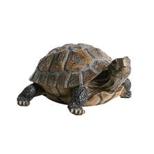 33x24x14cm Simulation Animal Turtle Ornaments Home Garden Po