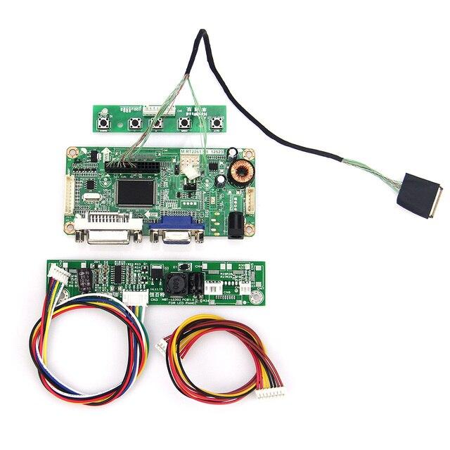 М. R2261 М. RT2281 LCD/LED Драйвер Контроллера Совета (VGA + DVI) Для LTN154BT02 B154PW04 1440x900 LVDS Монитор Повторное Ноутбук