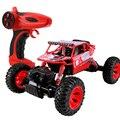 Carro do rc 4wd 2.4 ghz rocker escalada escalada carro 4x4 dual-motor da bicicleta modelo de controle remoto off-veículo rodoviário boy toys