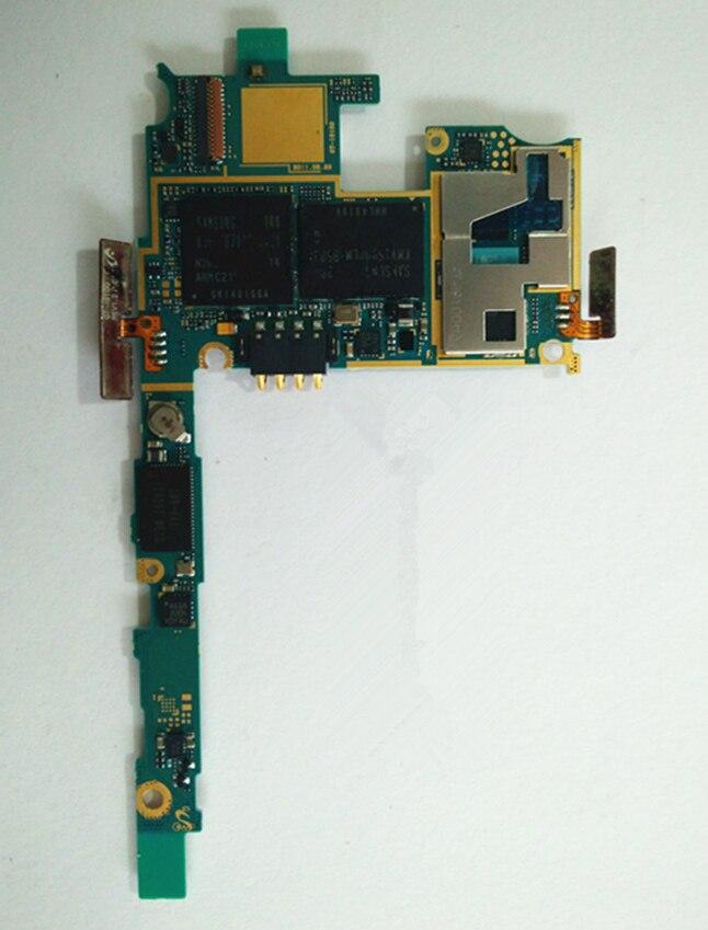 imágenes para 1 Unids Europa Versión Desbloqueado Para Samsung Galaxy S2 i9100 Placa Madre, 100% Original i9100 Placa Base + Free