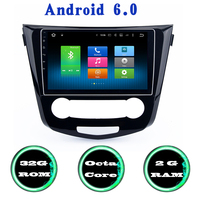 Octa Core Android 6 0 For Nissan Qashqai X Trail Car Gps Radio Player With 2G
