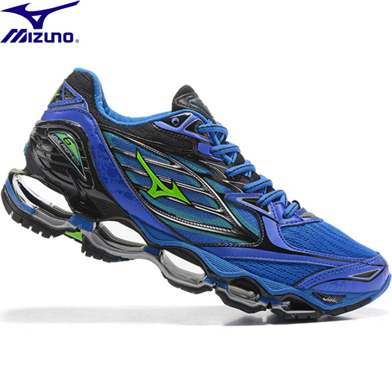 Mizuno Wave Prophecy 6 Professional Mens Running Shoes Stable Sports Air  Cushioning Weightlifting Shoes Sneakers Size 40-45 2d90f36e540b0