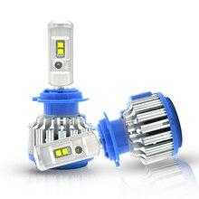 Modifygt T1 H4 led 70W 7200LM 6000K 12v H7 H11 9005 HB3 9006 HB4 9007 HB5 LED headlight car accessories auto