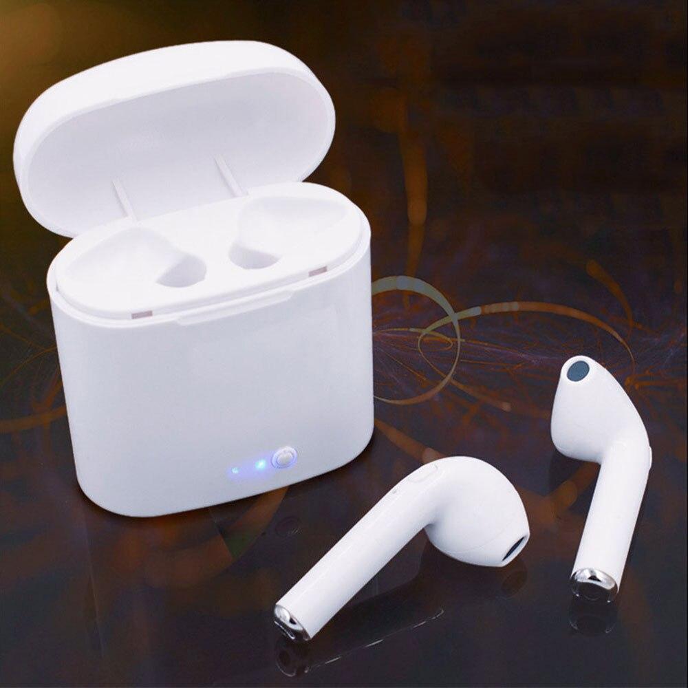 Music Clear Earphone Bluetooth Headset wireless Earphones i7 TWS Twin Earphone Noise Isolating Earbuds Bluetooth Comfort Headset