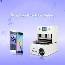 1PC Newest Airbag Automatic Laminating Machine with built-inar compressor and vacuum pump for less than 12 inch screen