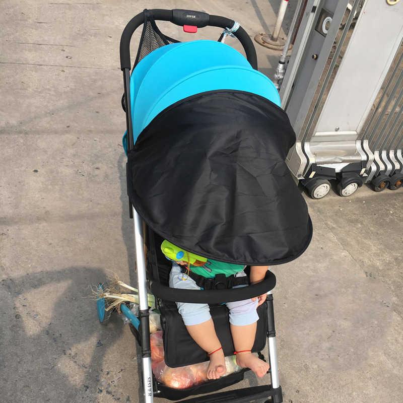 Детская коляска зонтик солнцезащитный козырек Детские коляски Аксессуары автомобиля Каркас сиденья тент дождь закрывающий полог коляска