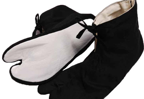 High Quality Kendo Protective Socks Retro Style Foot Bag Strap Kendo Equipment Karate