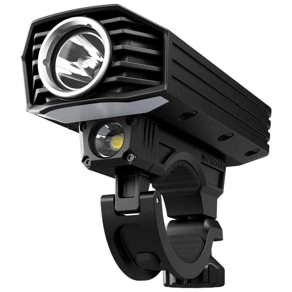 Vente Nitecore BR35 1800 Lumens Rechargeable Bike Light 2 3xcree XML2 U2 LED Intégré Batterie Pack Double Distance Faisceau de Livraison gratuite