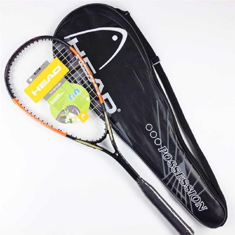 Cabon Composite Head Squash Racket With Bag HEAD Squash Racquet Orange Blue Squash Racquet With String Bag Head Squash Raquete