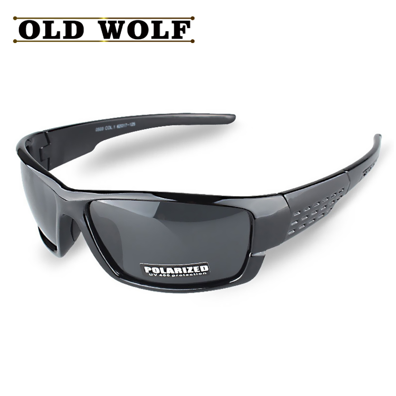 OLD WOLF New Arrival Promotion Polarized Sunglasses Men Brand Designer Men Goggles Glasses High Quality Lower
