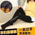2016 novas leggings grávidas Calças Quentes com veludo Calças Quentes Calças de maternidade roupas de grávida roupas de maternidade