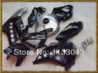 100%Fit Injection 7stars Fairings for HONDA CBR1000RR 04 05 CBR1000 RR 2004 2005 CBR 1000RR 04 05 silver black fairing kits #916