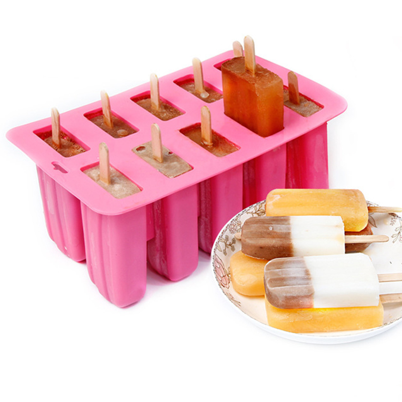 Food grade Silicone Ice Cream Tubs Eco Friendly Popsicle Mold Household For Kitchen Gadgets Dining Bar Accessories Supplies