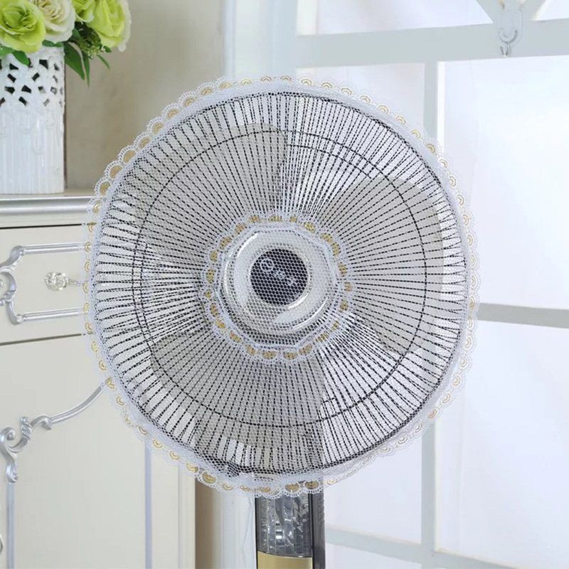 New Transparent Electric Fan Circle Dust Cover Household Dustproof Protection Cap Baby Safety Fan Cover Storage Bag