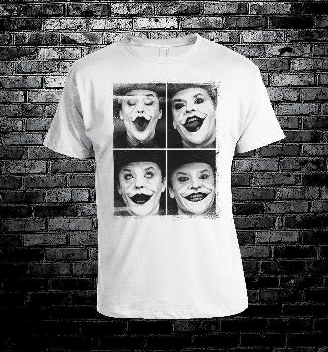 Jack Nicholson Joker Cool T Shirt Men Women Unisex