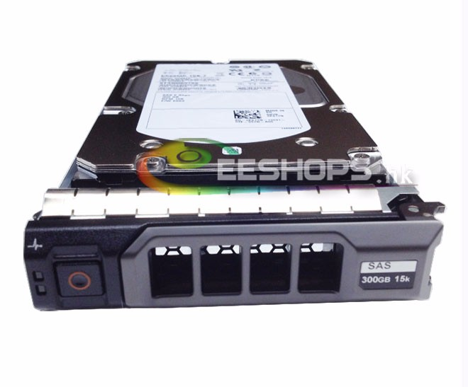 Best for Dell PowerEdge R710 R510 T420 Server 300GB SAS HDD 6GB/s 15K RPM 3.5