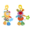 Baby Plush Cartoon Handbell Infant Rattle Toy Stroller Crib Cute Baby Teether Educational Musical Sound Toys
