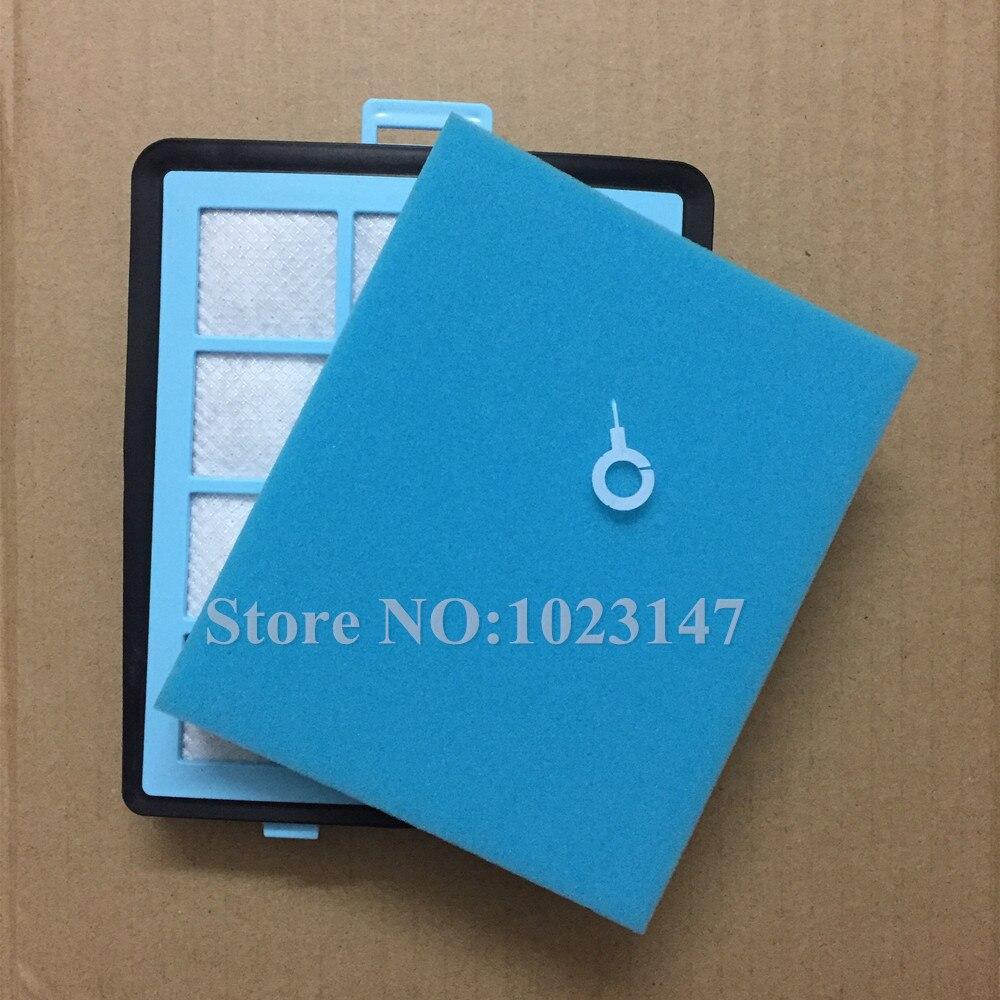 (1 set = 1 filtre principal + 1 sortie D'air filtre) Aspirateur Lavable Hepa Filtre de Remplacement pour Philips FC8760 FC8766 FC8767