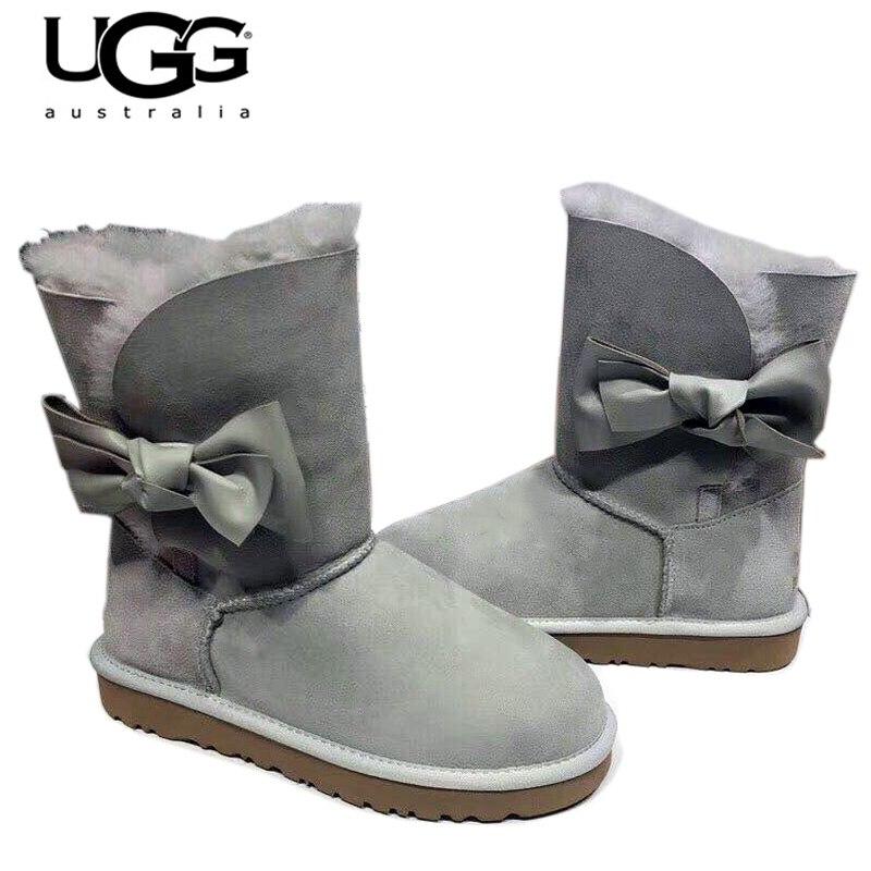2019 Оригинал Новое поступление 10199 угги Для женщин угги Снег обувь пикантные зимние сапоги Для женщин Classic Short II ugged Женские ботинки