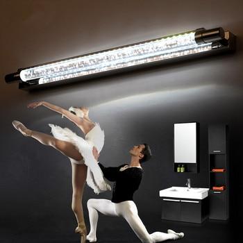 52CM K9 Crystal Modern LED Wall lamp Bathroom Light Mirror Lamp Fixtures For Home Indoor Lighting Bedside Lamps Luminaire