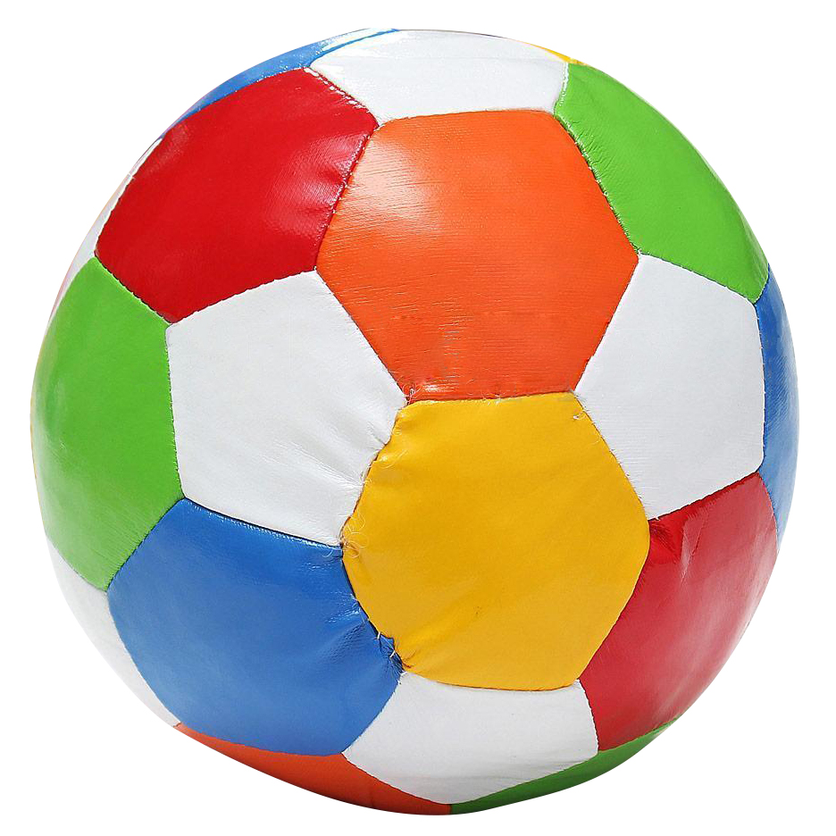 1pc 14.4cm Soft Indoor PVC Surface Football Soccer Play Ball Toy image