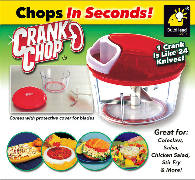 newest crank chop as seen on tv vegetable chopper food chopping