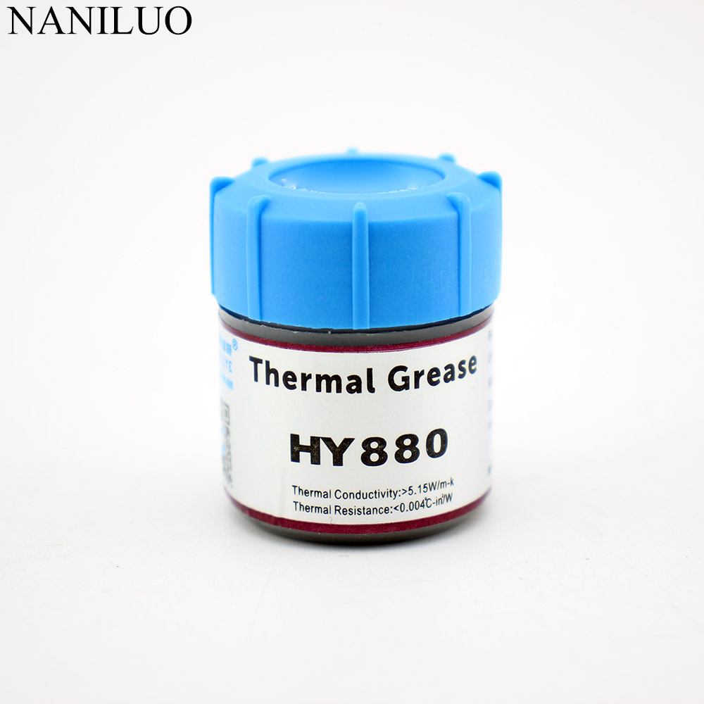 1PC 25g HY880 Thermal Grease Syringe Compound Paste For CPU GPU VGA LED Chipset PC Conductive Heatsink Plaster