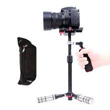 Estabilizador de vídeo de fibra de carbono de mano profesional Cámara Steadicam para Canon Nikon Sony teléfono DSLR videocámara DV