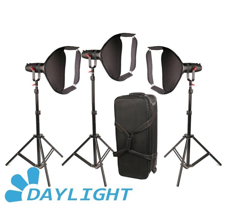 3 Pcs CAME-TV Boltzen 30w Fresnel Fanless Focusable LED Daylight Package3 Pcs CAME-TV Boltzen 30w Fresnel Fanless Focusable LED Daylight Package