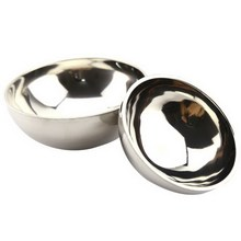 1 PC New Eco-Friendly Bowl Classic Anti-Rust Stainless Steel Smooth Rolled Edge Resistant Safe Kids Children Bowl