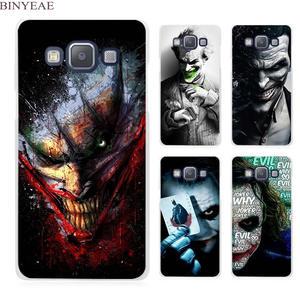 BINYEAE Cover For Samsung Galaxy A3 A5 A7 A8 A9 2017 2016 Be Serious Joker Batman