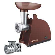 Мясорубка электрическая VITEK VT-3613BN (Пиковая мощность 1700 Вт, номинальная мощность 300 Вт, производительность 1.5 кг/мин, пластиковый корпус, реверс)
