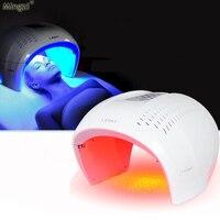 Maszyna do pielęgnacji skóry PDT Fotonów Czerwony Niebieski Podczerwieni LED terapia światłem LED odmłodzenie skóry urządzenie