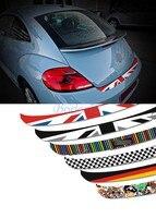 Fashion Rear Bumper Guard Trunk Door Sill Sticker Car Styling 2013 2014 2015 2016 For Volkswagen VW Beetle Accessories