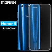 Huawei Honor 9 Case Silicon Huawei Honor9 Back Cover Soft TPU Transparent Phone Capas MOFi Original