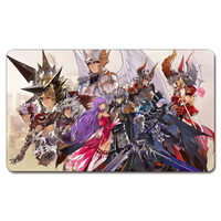 YGO Seven Knights Magic Playmat Board Games Yu Gi Oh Cards Custom Big Mousepad With Playmat