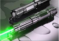 Высокая Мощность военный 500000 м 532nm зеленый лазерная указка фонарик фокус горящая матч, сжечь сигареты, поп воздушный шар + подарочная коробк