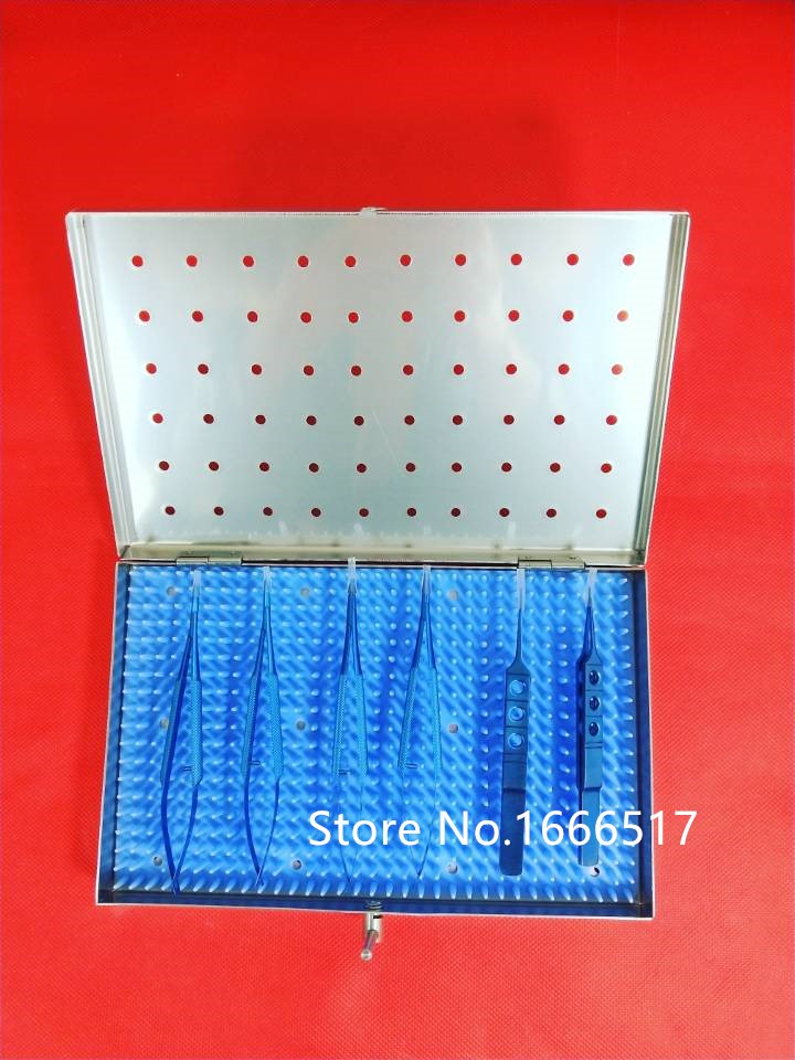 US $132 27 14% OFF Titanium Microsurgery Ophthalmic Equipment Medical  Surgical Instrument set#6 Brand new rh-in Tool Parts from Tools on