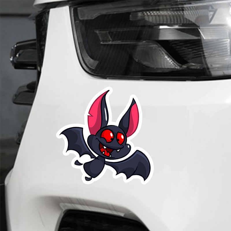 Забавный ПВХ стикер автомобиля летучая мышь водонепроницаемый мультфильм окно стильные автомобильные продукты для автомобилей Стайлинг орнамент аксессуары