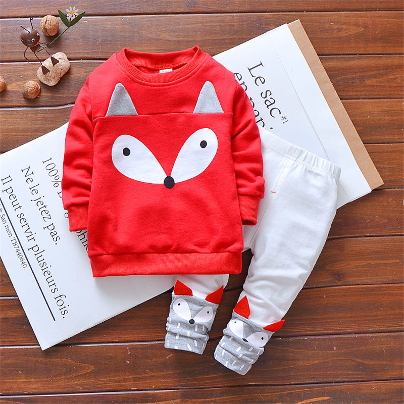 baby girl clothing sets cartoon casual sport suit Toddler girls tracksuit children sportswear for spring summer 1 year Clearance