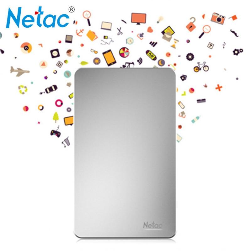 Netac K330 USB3 0 Metal 500GB 1TB 2TB HDD Housing HD Hard font b Disk b